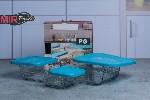 SE0307GCL Set container 3 buc.1/6
